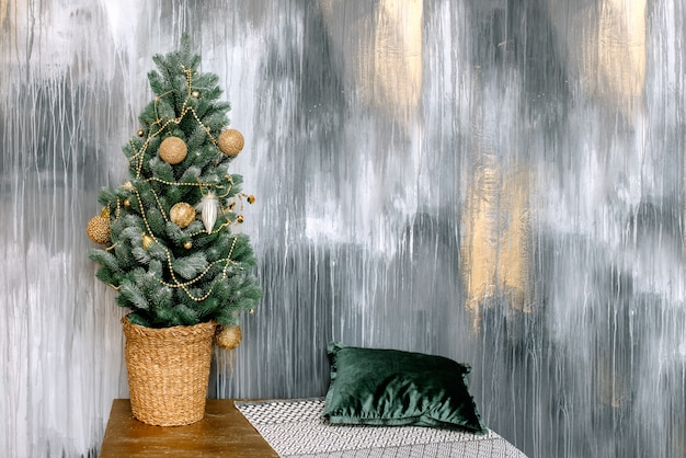 Christmas tree, christmas decorations and decor