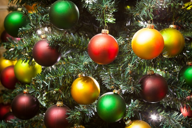Christmas tree decoration for party and celebration