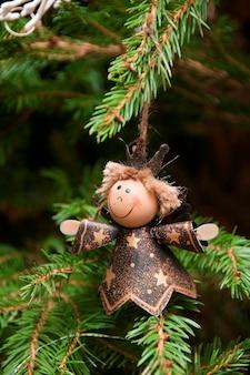 A christmas tree decoration