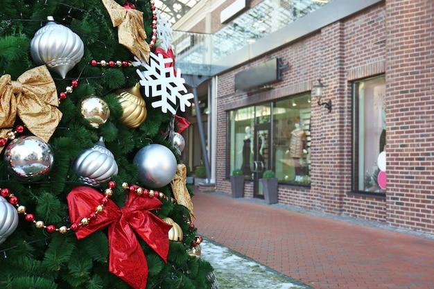 Рождественская елка в торговом центре