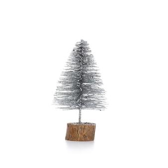 Рождественская елка, изолированные на белом фоне.