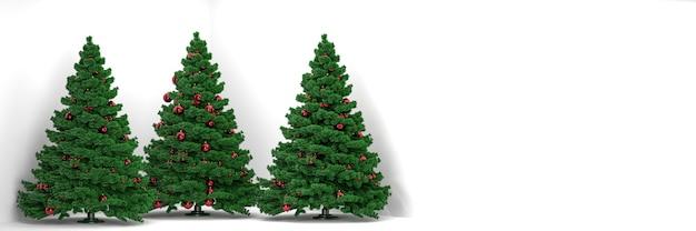 白い背景、コピースペースに白を販売するクリスマスツリー。高品質の写真