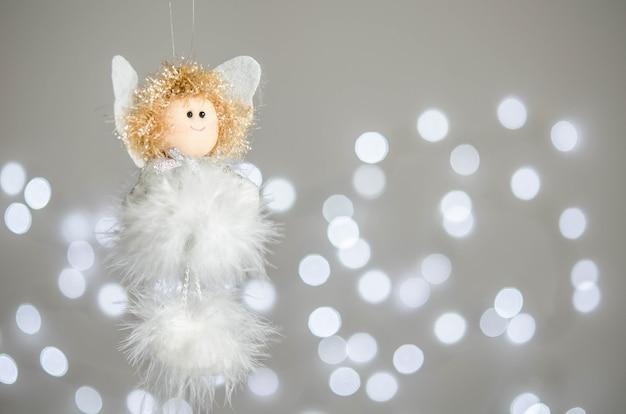 Christmas white angel