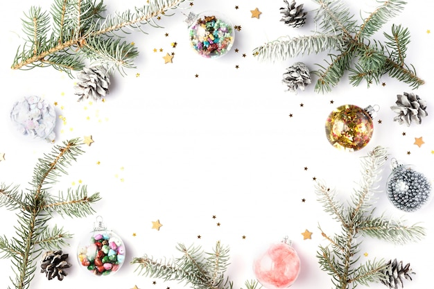 Christmas, winter, new year .