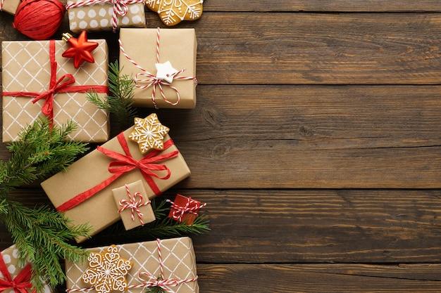 선물 상자, 장난감 및 장식 크리스마스