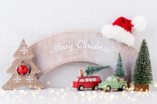 Christmass. рождественский календарь, 24 декабря на сером.