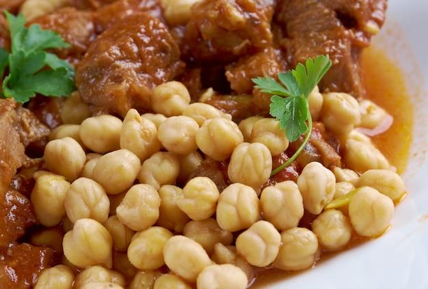 Chtithalham•赤いソースの子羊。アルジェリア料理