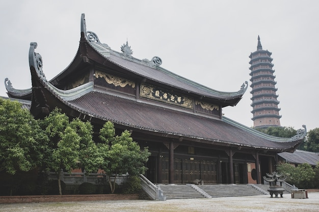 Chua bai dinh temple in ninh binh province most popular traveling destination in vietnam