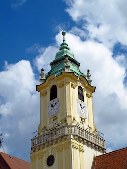 The church in bratislava, slovakia