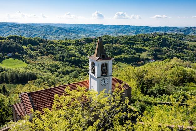 Church in castelletto d'erro