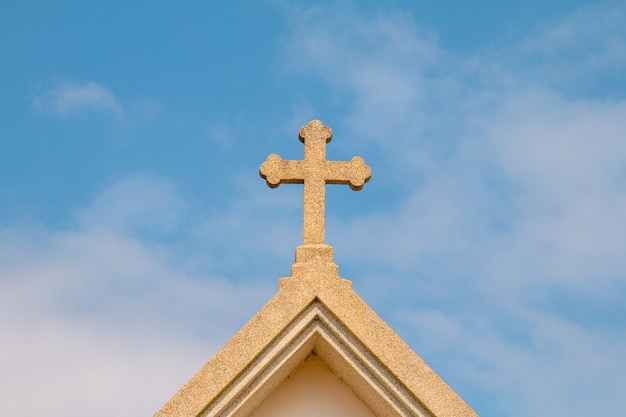 Church of christ on the cross mortar