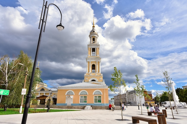 Church in the city of kolomna, high chapel of the church