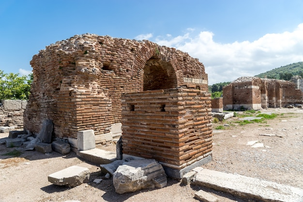 The church of mary (the council church) in the ancient city of ephesus in selcuk, turkey