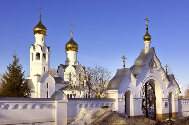 The church in the name of archangel michael in novosibirsk orthodox church