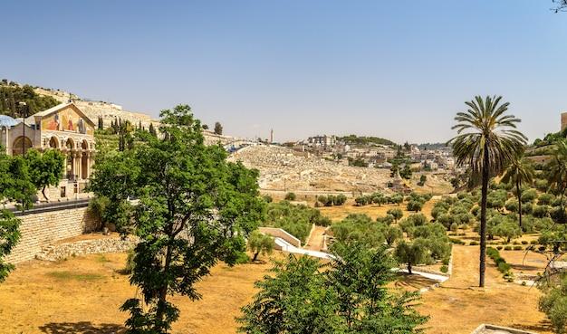 Церковь всех наций в долине кедрон - иерусалим, израиль