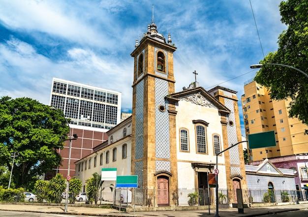 ブラジル、リオデジャネイロのラパドデステロの聖母教会 Premium写真
