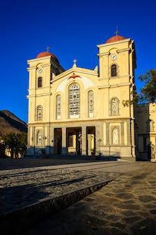 Церковь панагии в неаполи, крит, греция