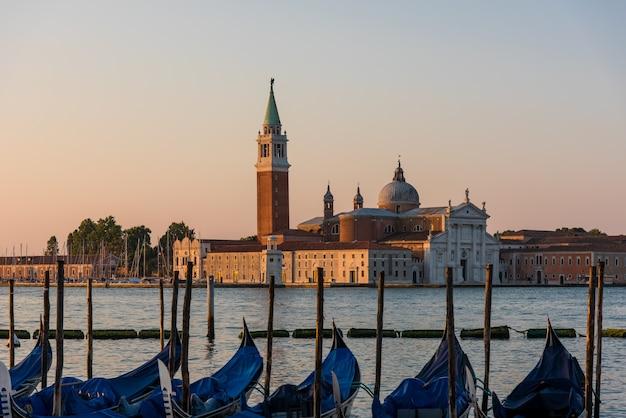 Церковь сан-джорджо маджоре в венеции, италия