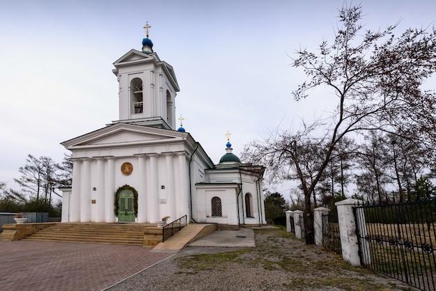 Церковь входа господня в иерусалим, построенная в 1820-1835 гг.