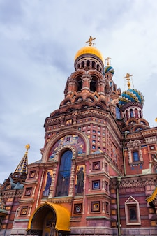 血の上の救世主教会サンクトペテルブルクロシア