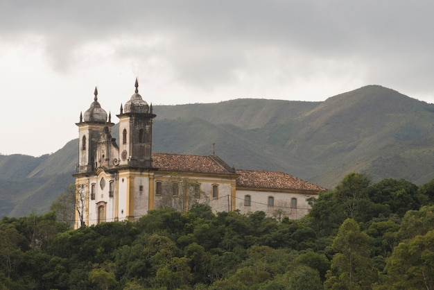 Church of saint francis of paola, in ouro preto, minas gerais, brazil