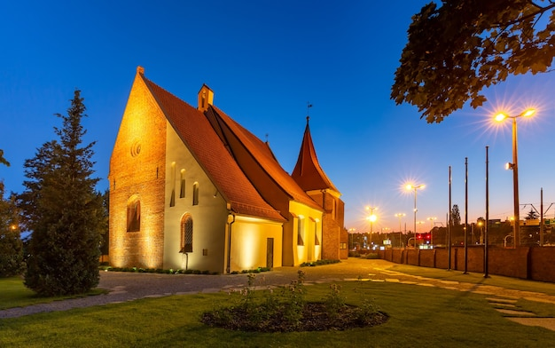 Church of saint john of jerusalem in poznan, poland