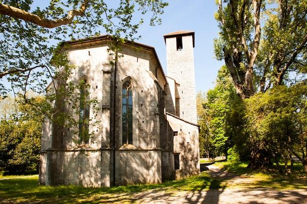 Church of san giovanni in tuba, san giovanni di duino - italy