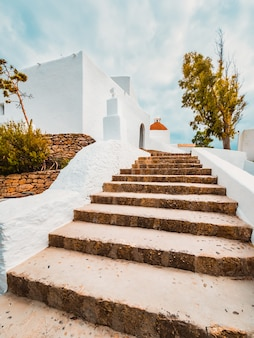 Church of santa eulalia,ibiza,balearics,spain