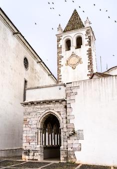 Church of santa maria at the estremoz castle in portugal
