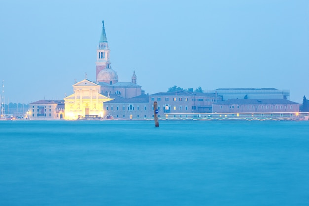 The church of santissimo redentore in venice landscape