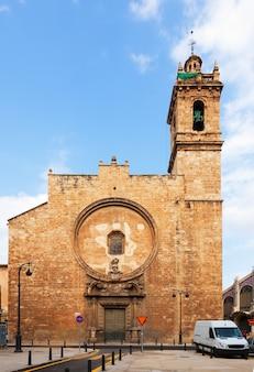 Church of santos juanes. valencia