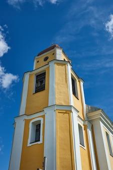 Church of st. andrew,  belarus, myadzyel district, krivichi