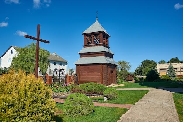 Church of st. andrew , belarus, myadzyel district, naroch