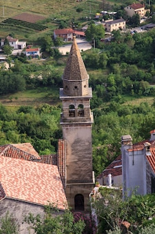 Church of st.john the baptist and blessed virgin mary of the gate, motovun