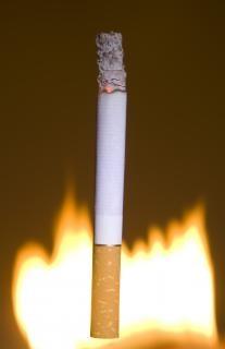 Cigarette   flame