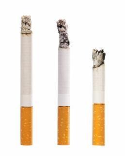 Sigaretta, la malattia, isolato