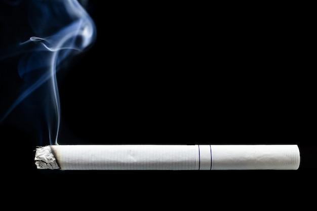 Cigarette smoke cigarette butt