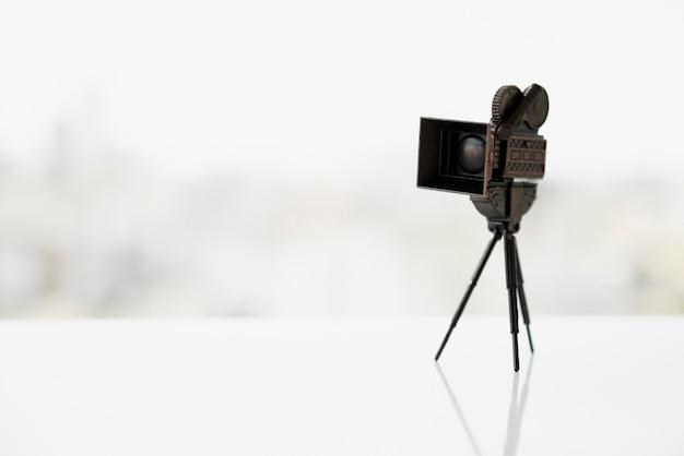 Cinema concept with camera