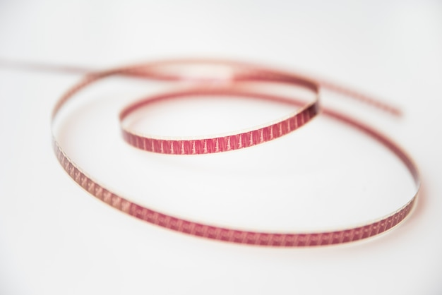 Concetto di cinema con bobina