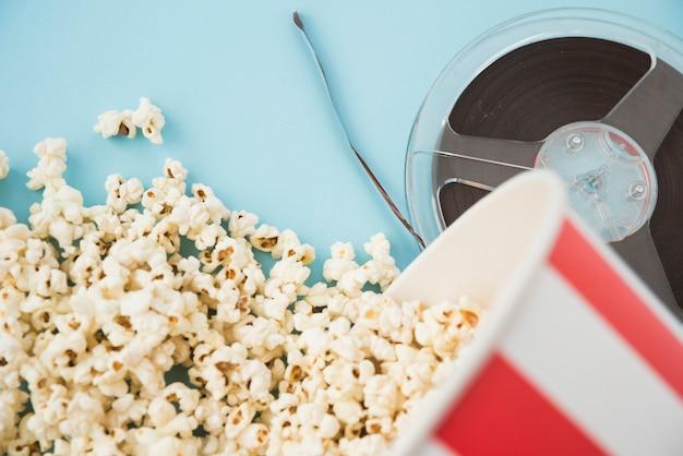 Концепция кино с различными элементами