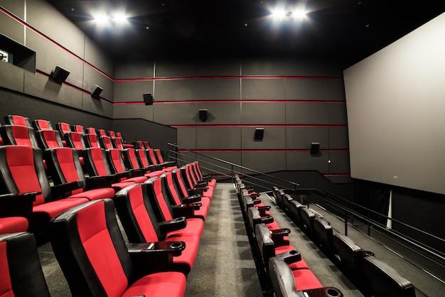 The cinema house. inside