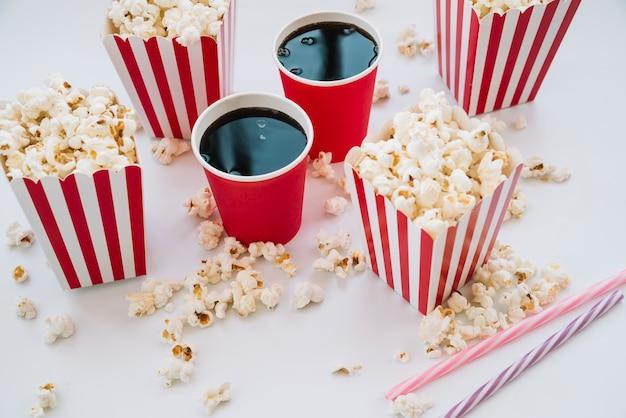Cinema popcorn box с безалкогольным напитком
