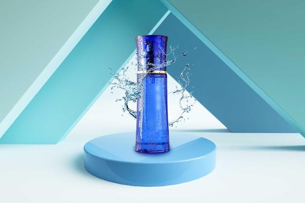 시네마 렌더링 화장품 향수 제품 모형