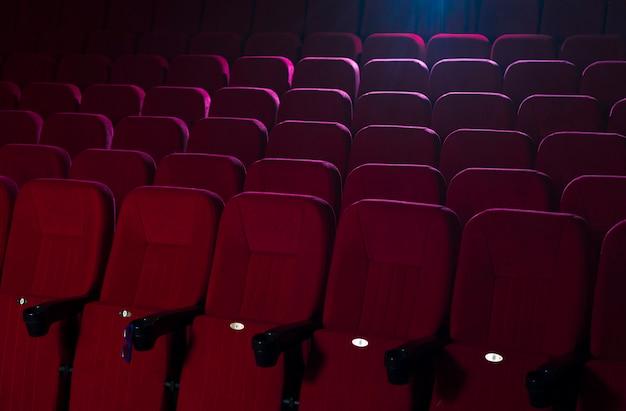 Cinema seats still life