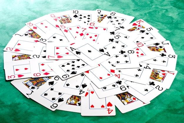 Circle of cards
