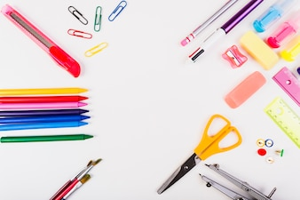 Circle from school stationery