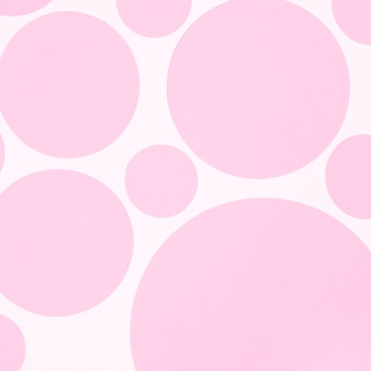 Circle shape background texture wall