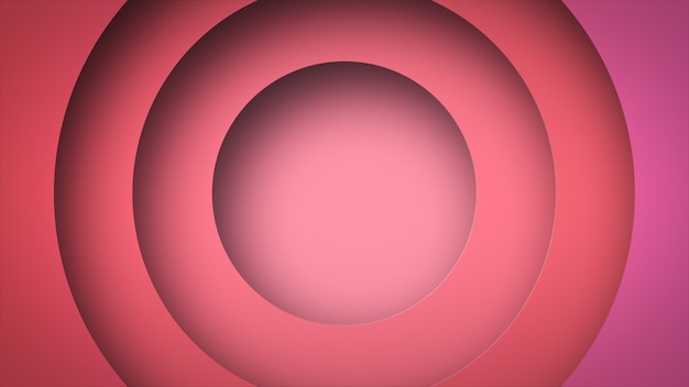 Circle shape dynamic geometric ping color abstract background