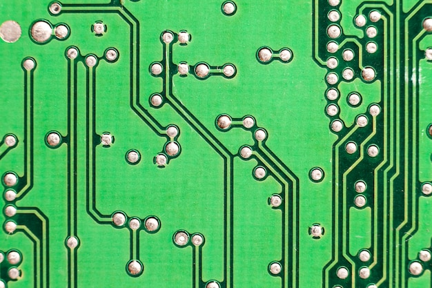 Circuit board. electronic computer hardware technology. motherboard digital chip. tech science background.
