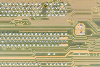 Circuit board integrated on computer